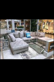 Beautiful Luxurious Comfortable Stylish U shaped Sofa Available