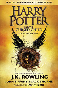 HARRY POTTER & THE CURSED CHILD brand new, hardcover
