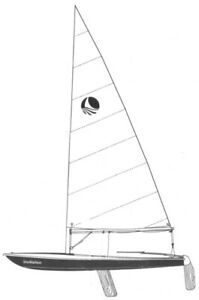 4.7 Bombardier Invitation Sailboat