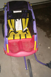 Little Tikes kids' bike trailer in good condition