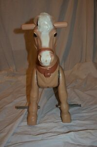 Vintage 60s  Marx Marvel The Mustang Horse Ride On Peterborough Peterborough Area image 5