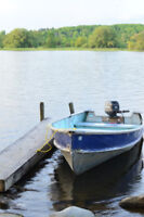 Fishing boat and Canoe rentals on the Trent River, Campbellford
