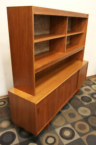 Excellent Teak Mid Century Modern Credenza / China SEE VIDEO