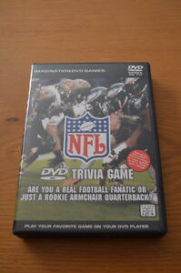 NFL DVD Trivia Game: The Ultimate Game for Sports Fans: NEW