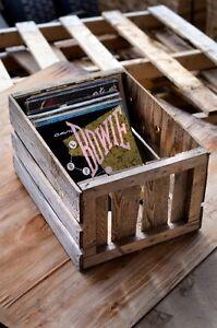 Wooden Vinyl Crates For Sale!
