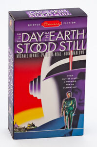 THE DAY THE EARTH STOOD STILL VHS video
