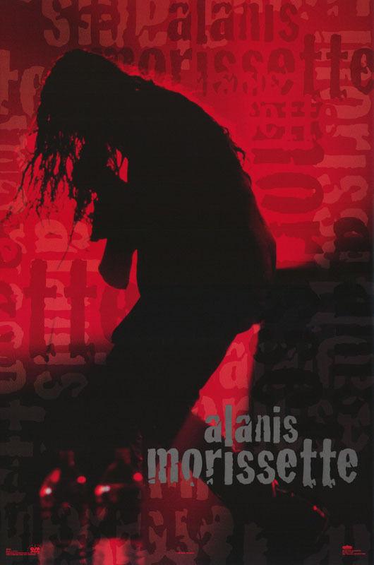 POSTER : MUSIC : ALANIS MORISSETTE   -  FREE SHIPPING ! #8258  RP75 M