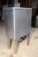 Stainless steel laundry sink / overflow sink