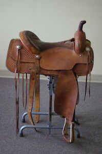 "Cutting Saddle Custom built for ""Terri Clark"""