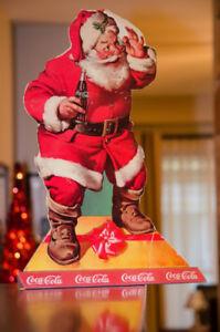 Cardboard Père Noel Coca-Cola 1950