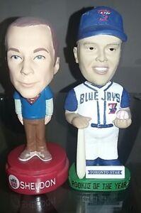 2 For 1 - Eric Hinske & Talking Sheldon Cooper Bobbleheads