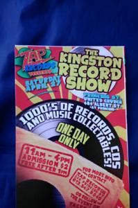 KINGSTON RECORD SHOW SATURDAY APRIL 27th