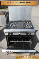 Commercial Stoves, Oven, Dishwashers, Ice Makers and more