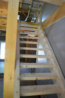 Custom stair builder