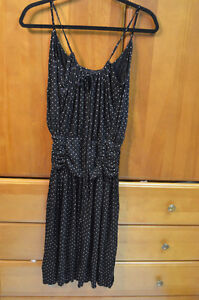 Bcbgmaxazria - Black Polka Dot dress