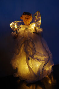 Lighted Angel Tree Topper