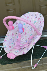 Pink Owl Baby Bouncer