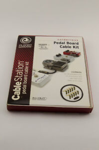 Planet Waves Pedal Board Cable Kits X2 One BNIB One Used