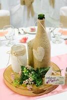 DÉCORATIONS MARIAGE ---- PRIX DE LOT 200 $