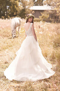 Designer Mikaella Lace & Tulle Wedding Dress NEW/REDUCED