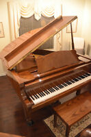 """Polished Oak 5"""" 2"""" G150 Young Chang Grand Piano - New condition"""