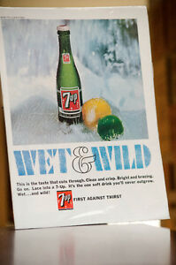 IMAGES PUBLICITAIRE COKE - 7UP - PEPSI