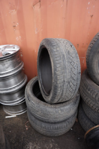 2245/40/19 CONTINENTAL EXTREME CONTACT  SUMMER TIRES