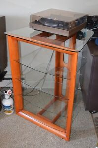 DISPLAY STAND: Glass Shelves; Stylish, Attractive, Strong