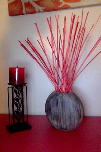 Decor Items- Candle and holders, Artificial plants and flowers Kitchener / Waterloo Kitchener Area image 5