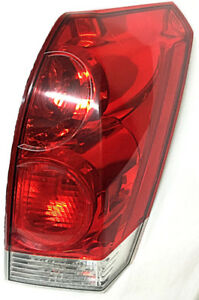 Passenger Side Tail light with Bulbs Nissan Quest 2004-2009
