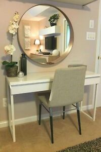 Brand New Urban Chic Vanity Dressing Table & Swivel Chair