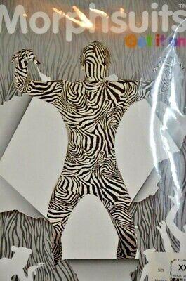 Original Morphsuit Zebra Print Size XXL 6'3