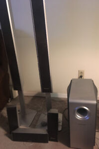 Panasonic surround system (6) and Speakers- Sony