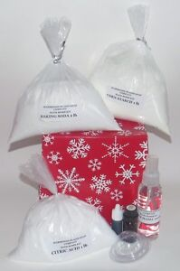 MAKE YOUR OWN - BATH BOMB KIT - GREAT GIFT IDEA