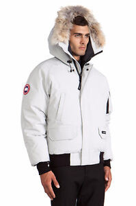 WHITE CANADA GOOSE XL MENS GOOD CONDITION OR BEST OFFER