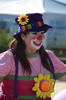 Clown, Face painting and Balloon twisting in Calgary Alberta