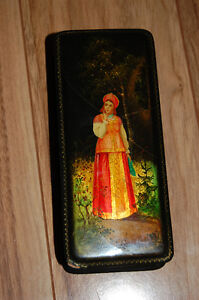 Lacquer Russian Icon Box