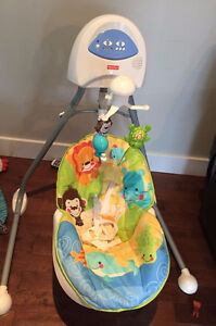 FISHER PRICE  CRADLE AND SWING -