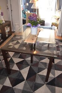 Glass Top Dining Table - 60 x 40