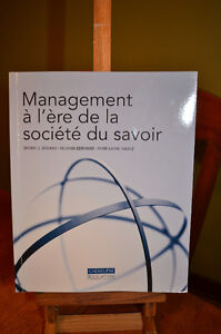 Management à l'ère de la société du savoir (négo)