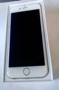 iphone 6 128gb silver white mint.Trade welcome