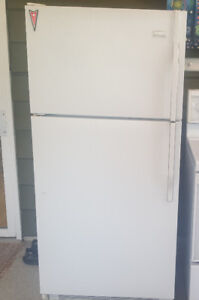 18.2 cu ft Crosley white refrigerator for sale
