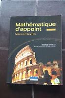 Livres mathématique, chimie générale et solutions