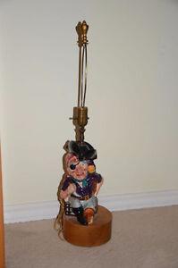 Long John Silver Toby Lamp