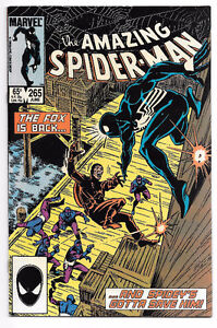 AMAZING SPIDER-MAN #265 NM 1st Silver Sable 1985 Marvel