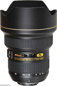 Nikon AF-S Nikkor 14-24mm f2.8 G ED N