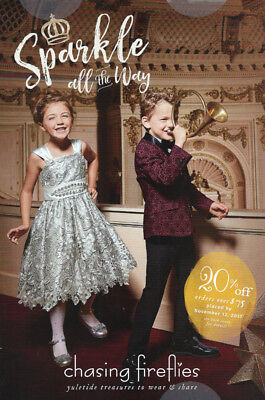 Kids Clothes Catalogues (CHASING FIREFLIES Children's Kids' Costume & Apparel Catalog Holiday 2017)
