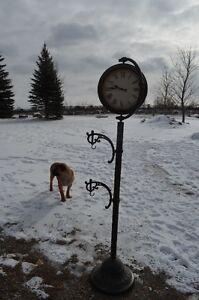 Outdoor Garden clock reduced price