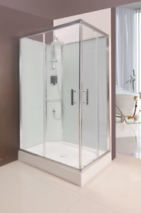 SHOWER CUBICLE WITH GLASS WALL 1200X800X2200MM NEW Thomastown Whittlesea Area Preview