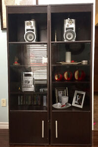 Wall unit + tv stand